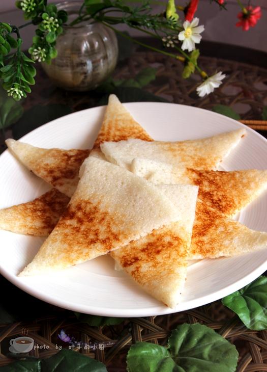 儿时的美味---三角粑