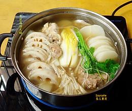 清汤火锅的做法