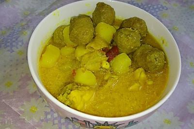 咖喱浓汤(配饭)