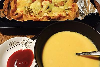 【月子餐】奶油南瓜汤【儿童辅食】