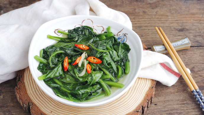 #花10分钟,做一道菜!#清炒木耳菜