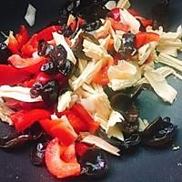 #精品菜谱挑战赛#四季豆烧腐竹+春天的味道的做法图解13