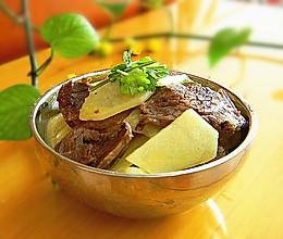 干煸土豆牛肉片的做法