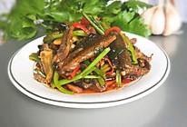 #多力金牌大厨带回家#鳝鱼炒芹菜的做法