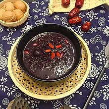 #做道好菜,自我宠爱!#养颜红枣百合莲子黑米粥