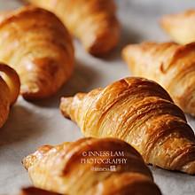 第一次开酥就成功!自制可颂Croissant牛角包的做法