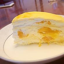 #憋在家里吃什么#芒果千层蛋糕