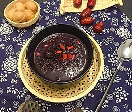 #做道好菜,自我宠爱!#养颜红枣百合莲子黑米粥的做法