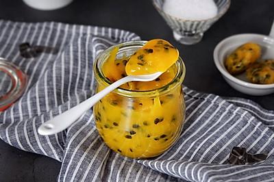 百香果芒果酱