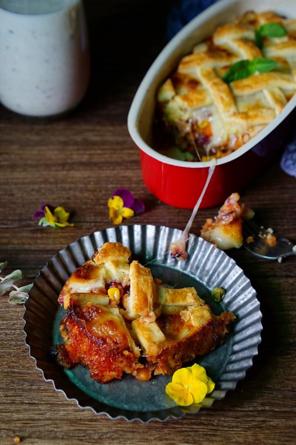 牛肉虾仁杂蔬焗饭的做法