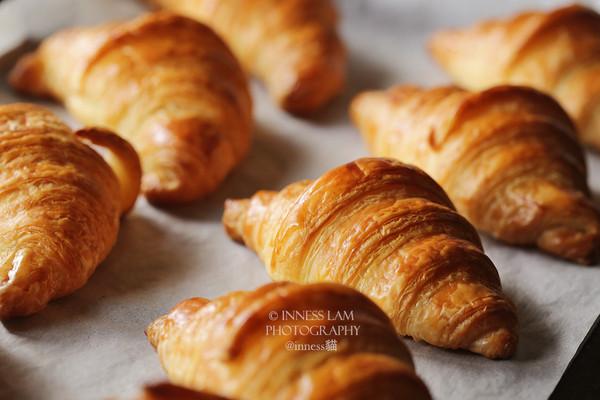 第一次开酥就成功!自制可颂Croissant牛角包的做法的做法