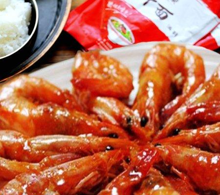 红果茄汁焖大虾的做法