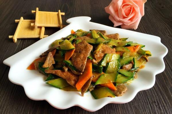 熘肝尖#夏日清爽家常菜#的做法
