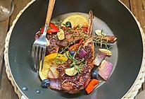 #味达美名厨福气汁,新春添口福#香煎羊排的做法