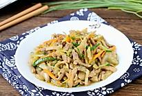 #厨此之外,锦享美味#榨菜炒肉丝的做法