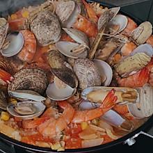家庭版西班牙海鲜烩饭