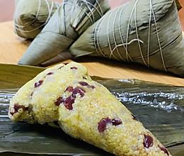 大黄米蜜豆粽子的做法