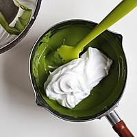 抹茶棉花蛋糕卷#春天里的一抹绿#的做法图解10