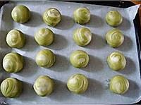 抹茶绿豆酥的做法图解17