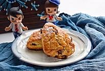 #相聚组个局#巧克力蔓越莓司康,早餐能量打卡的做法