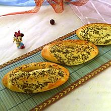 迷迭香鲜奶面包#夏日下饭菜#