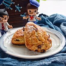 #相聚组个局#巧克力蔓越莓司康,早餐能量打卡