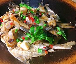 豆豉烧平鱼的做法