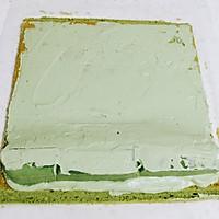 抹茶奶冻蛋糕卷(抹茶控~)的做法图解16