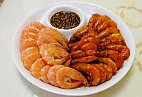 海白虾(白灼、油焖)的做法