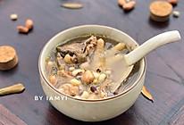 花生眉豆鸡脚汤的做法