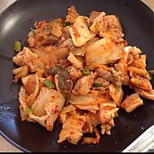 辣白菜五花肉