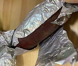简简单单烤地瓜的做法