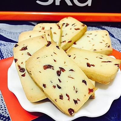 零基础菜谱—蔓越莓饼干