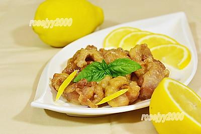 新鲜柠檬汁鸡块