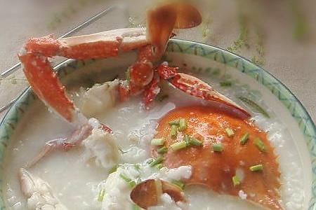 生滚螃蟹粥的做法