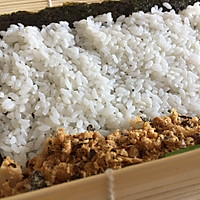 #爽口凉菜,开胃一夏!#肉松寿司卷的做法图解11