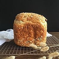 面包机版果干燕麦吐司#东菱Wifi云智能面包机#的做法图解19