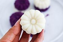 #秋天怎么吃#紫薯山药糕的做法
