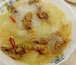 羊肉粉丝冬瓜汤的做法