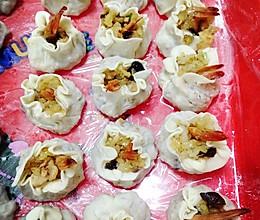 虾仁香菇烧卖的做法