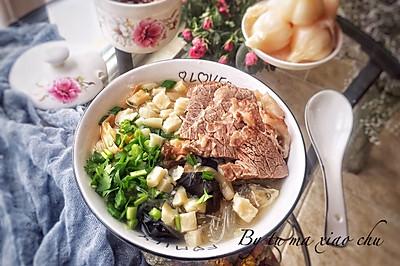 牛肉泡馍~暖胃,暖心