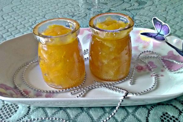 面包机版:甜橙果酱的做法