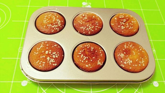 芝麻蜂蜜小蛋糕