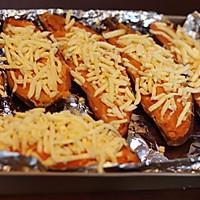 芝士焗红薯的做法图解5