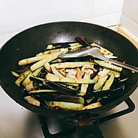 超下饭的干煸茄子煲的做法图解4