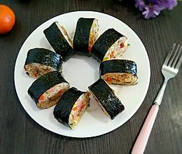 紫菜包炒饭的做法