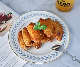 #快手又营养,我家的冬日必备菜品#蒜香炸鸡翅的做法