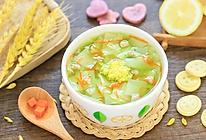翡翠面片汤的做法