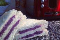 紫薯三明治——养生三明治的做法
