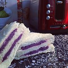 紫薯三明治——养生三明治